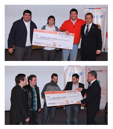 Los 2 proyectos ganadores del Concurso PartnerUp